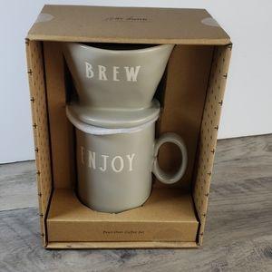 Rae Dunn Coffee Set